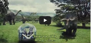 Jurassic World - O Mundo dos Dinossauros, um Making of com legenda - A Look Inside