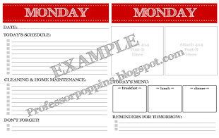 Free Planner Printables