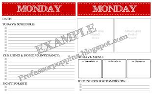 Free Planner Printables