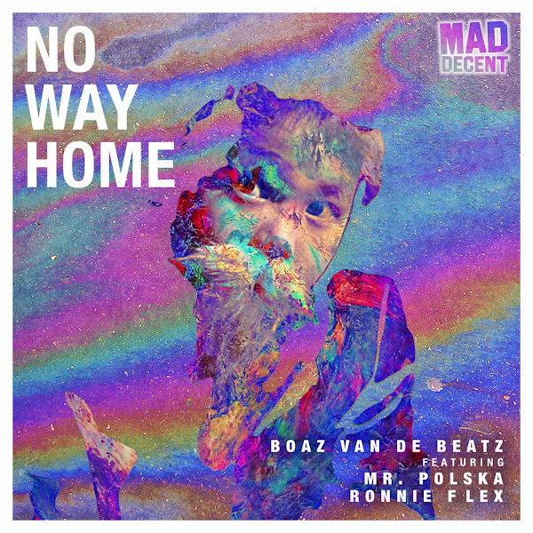 Boaz Van De Beatz - No Way Home (feat. Mr. Polska & Ronnie Flex) - Single Cover
