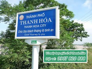 Đặt vé máy bay đi Thanh Hóa (THD)