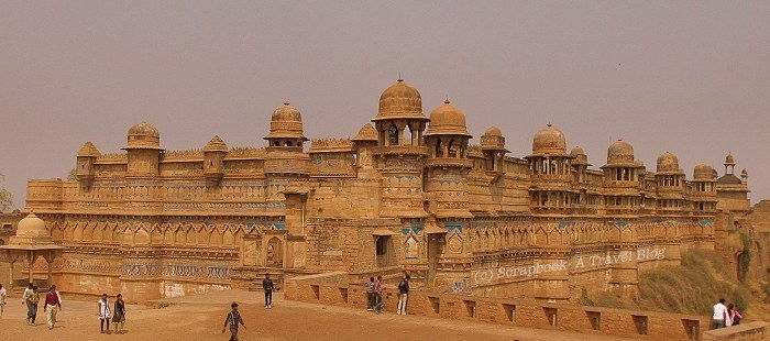 Gwalior Fort Man Mandir Palace
