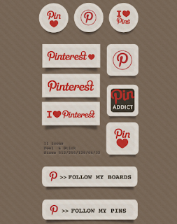 Free Pinterest Icons And Badges