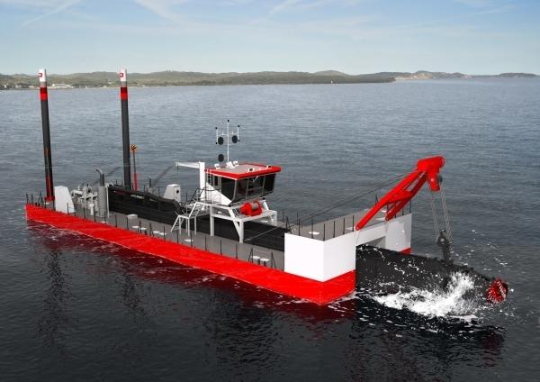 IHC Merwede bouwt voor het Chinese Zhejian Dredging een snijkopzuiger ...: tysmalems.blogspot.com/2012/01/snijkopzuiger-baggert-40-meter-diep...