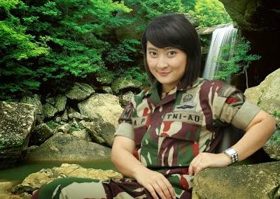 TENTARA WANITA CANTIK TNI INDONESIA KOWAD | INDONESIAN MILITARY