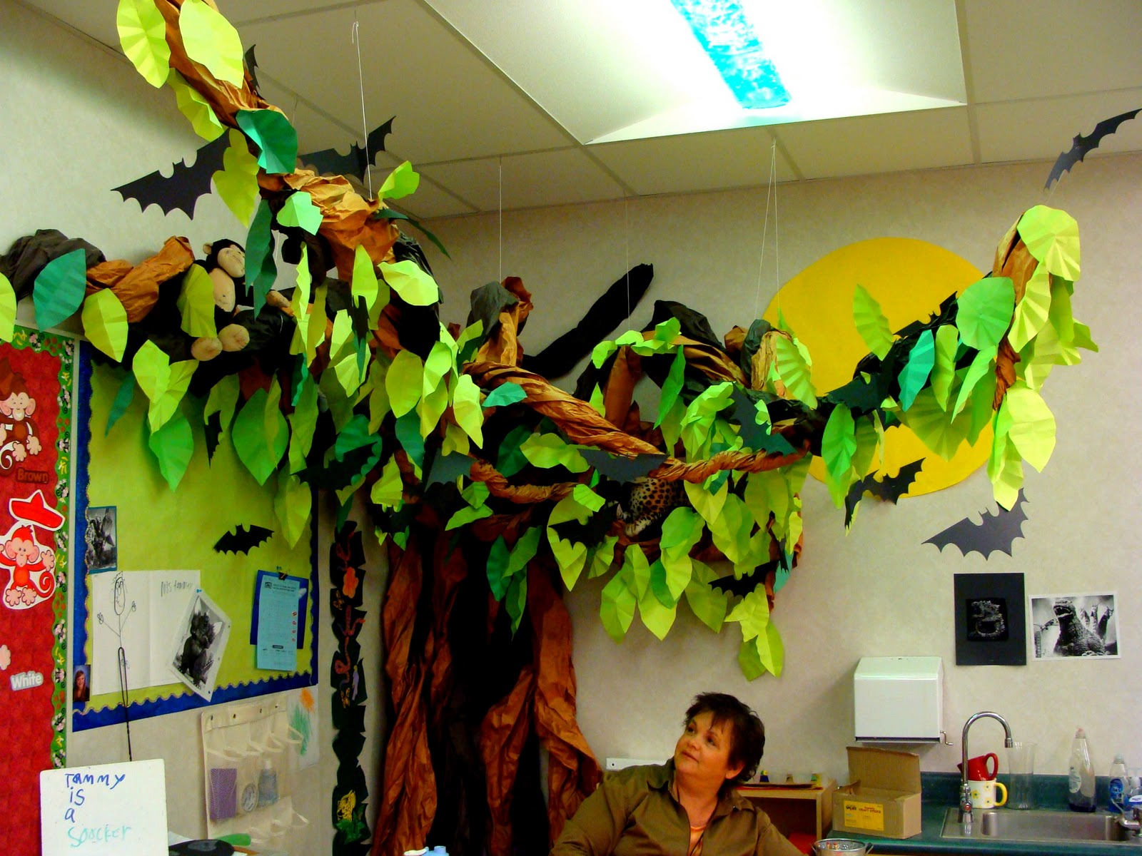 Classroom Decor Tree ~ Classroom decorations home decorating ideas