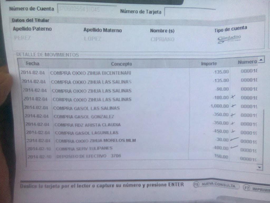 Consulta estado de cuenta banco popular prestamos for Banesco online consulta de saldo cuenta de ahorro