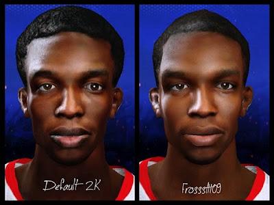 NBA 2K14 Patrick Beverley Cyberface Mod