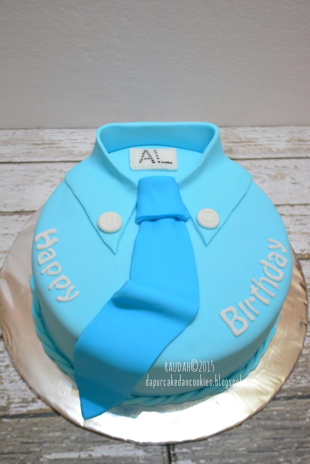 Dapur Cake Dan Cookies Shirt Tie Birthday Cake