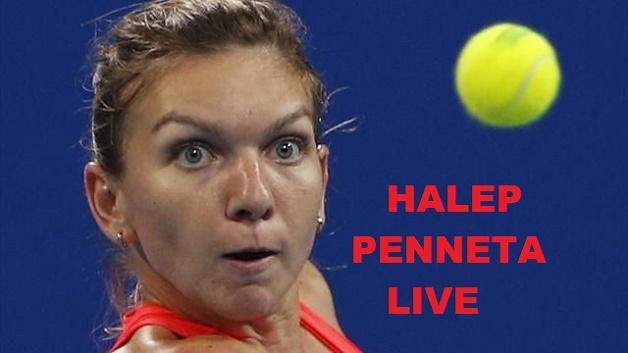 SIMONA HALEP PENNETA, pe internet, WTA 25 octombrie 2015 Singapore