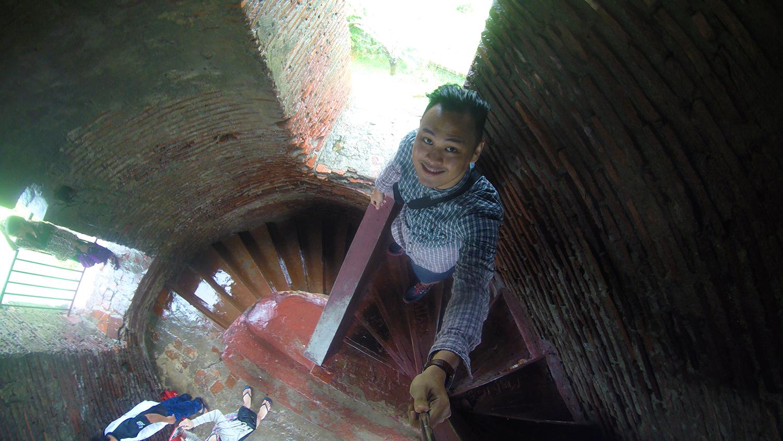 travel Vigan Ilocos Tour Sur Philippines tour tourism Bantay Church St Agustine Parish Bell Tower Belfry