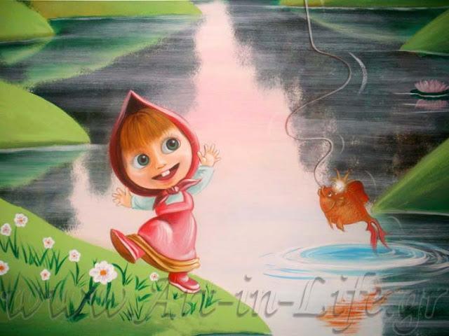 Ζωγραφική Τοίχου - Παιδικό Δωμάτιο, Ζωγραφική τοίχου για παιδικά δωμάτια