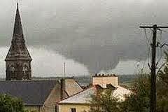 Tornado Galway, República de Irlanda, 04 de Octubre 2013