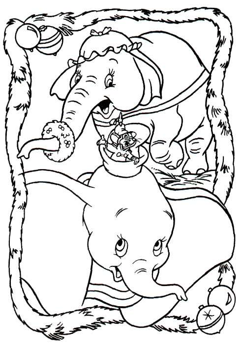 dumbo coloring pages disney - photo#27