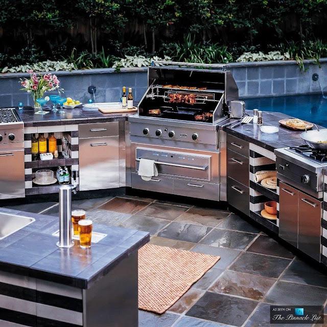 Cocina funcional para patio patios y jardines for Cocinas para patios