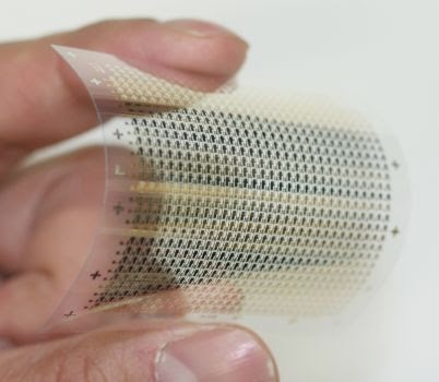 Flexible organic NAND flash