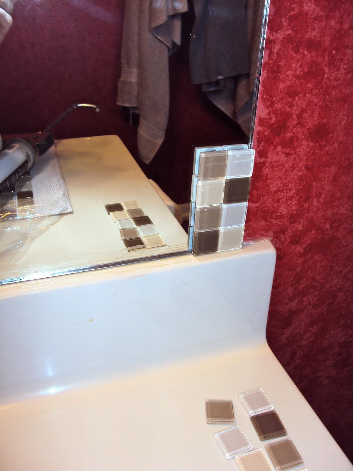The Duty Chronicles Tiled Bathroom Mirror