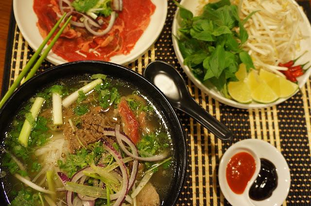 vietnamese beef noodle (pho bo)