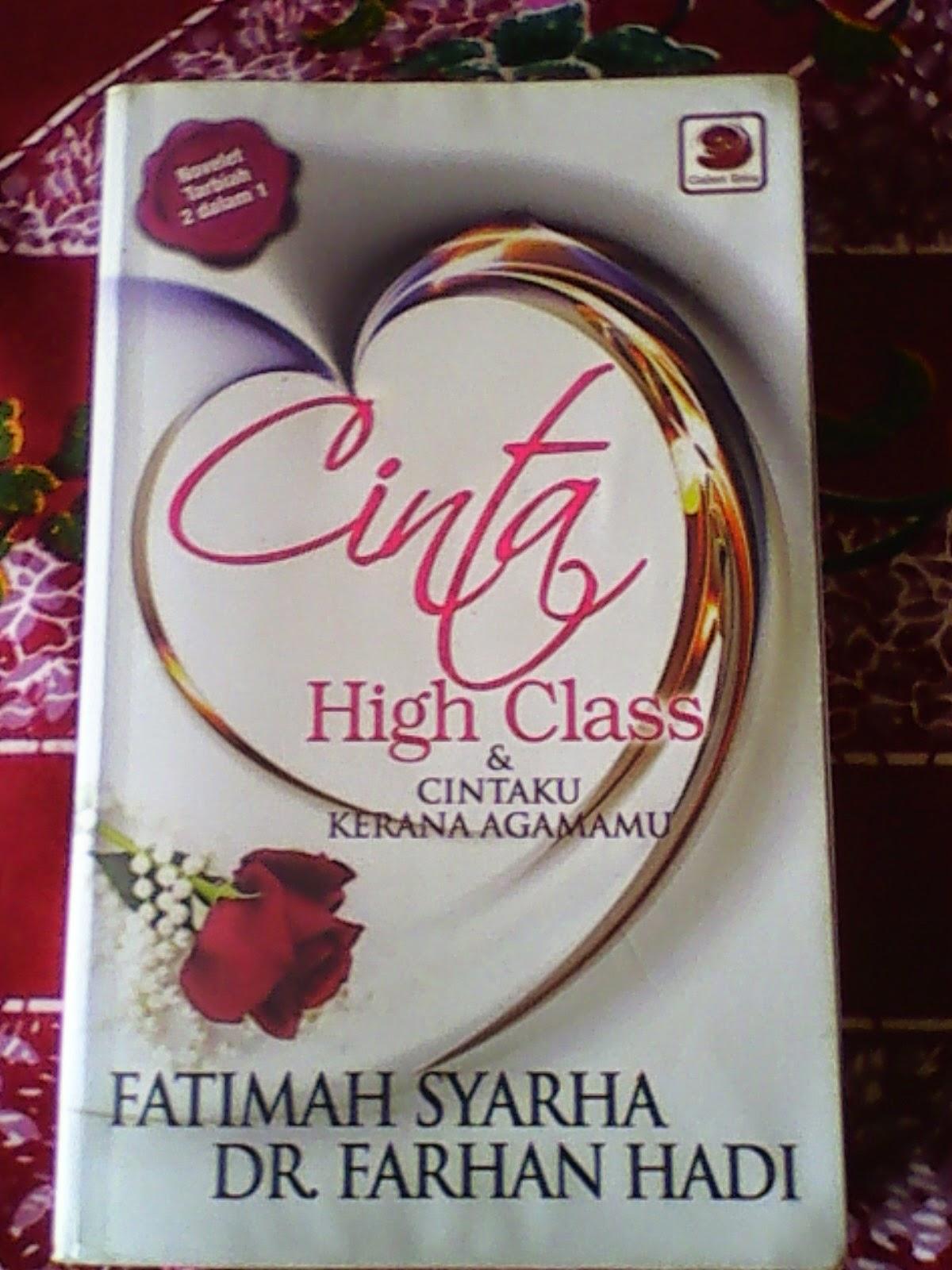 cinta high class-kak syarha