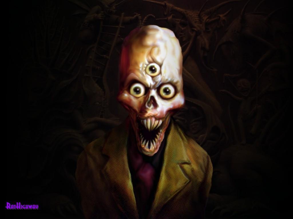 Gambar Setan ( Ghost Walpaper )