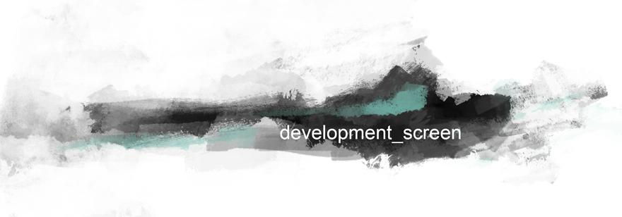 development screen