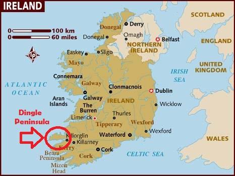 Dingle Bay Ireland Map