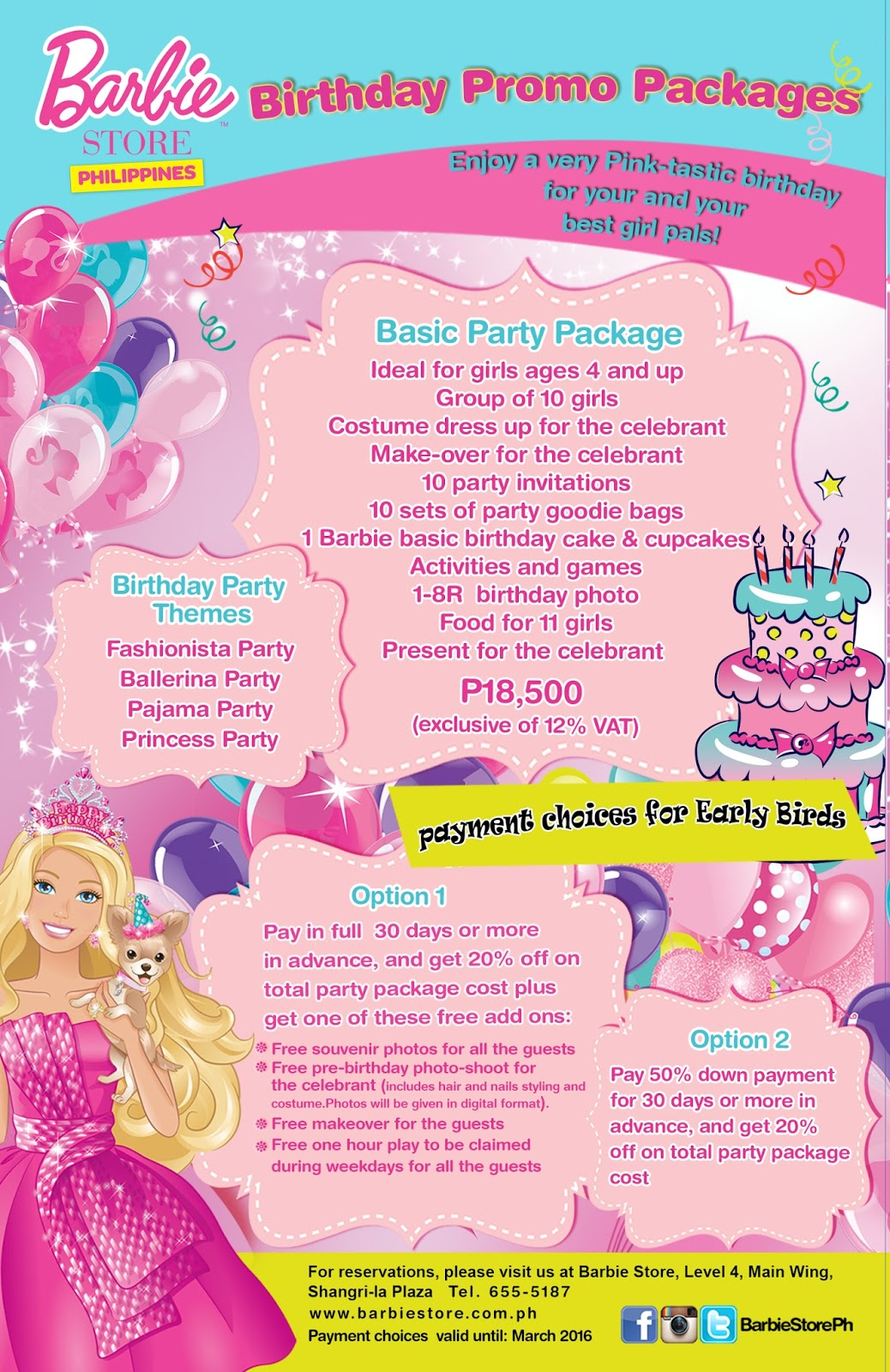 Kids Spa Day Birthday Party