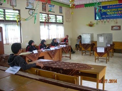 Hasil Pemilu Presiden di Nagari Guguak Tabek Sarojo