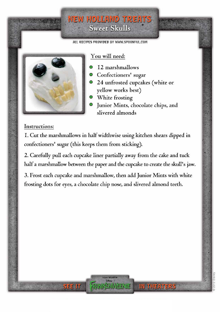 Sweet Skulls Recipe