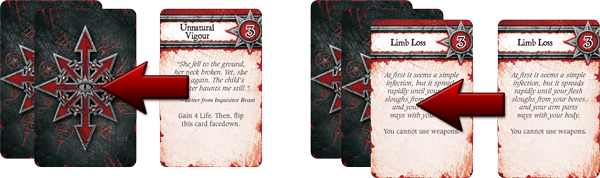 relic board game corruption cards