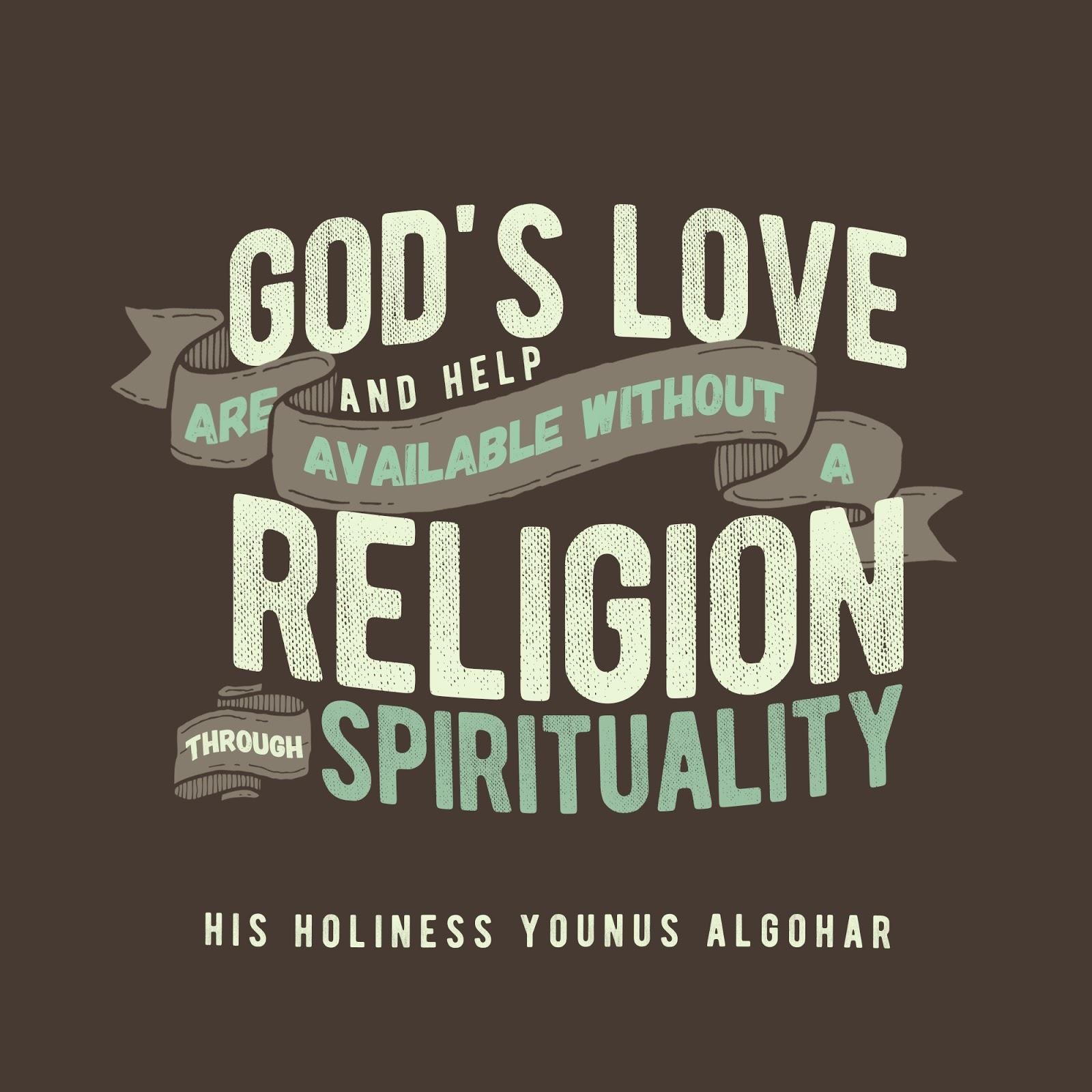 god s love and help