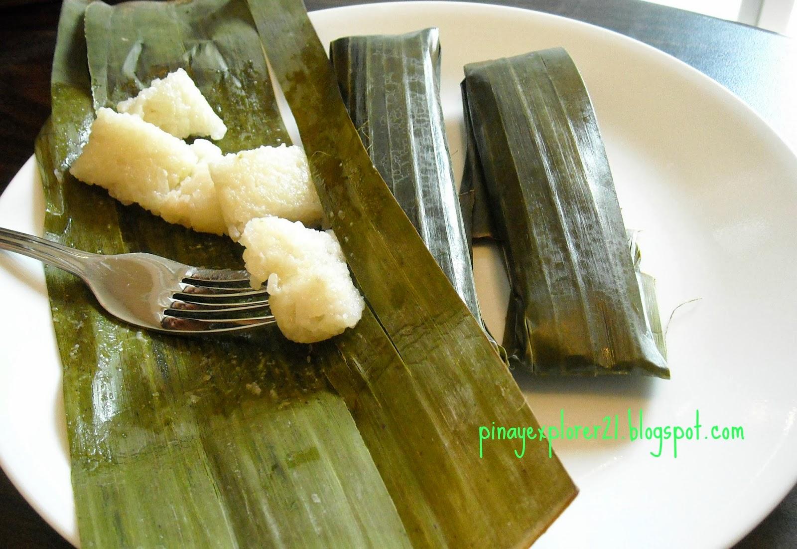 The Sweet Cuisinera: Suman Malagkit Recipe