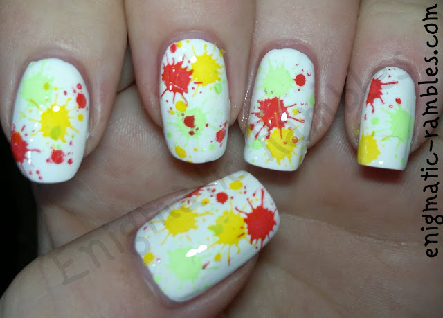 stamping-stamped-M21-nail-nails-art-freehand-color-club-twiggie-almost-famous-barry-m-passion-fruit
