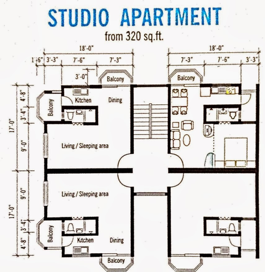 Apartment for sale melingsung studio apartment plan layout for Studio layout plan
