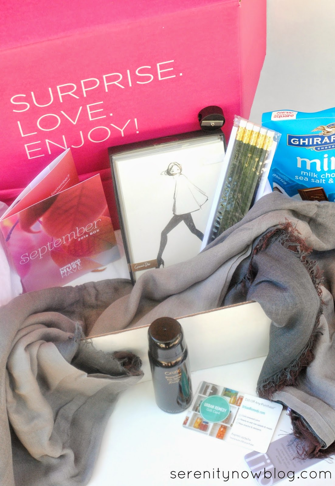 Fab surprises delivered to your door each month from @POPSUGARMH! at Serenity Now blog #MustHaveBox