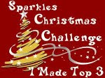 I made Top 3 at Sparkles Christmas