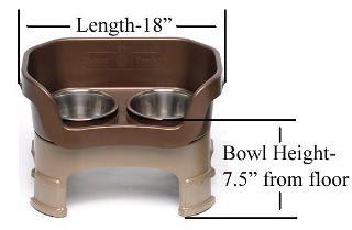 Neater Feeder bowl height