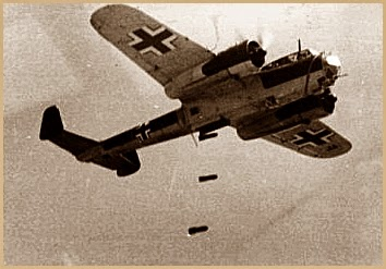 German bomber 1940