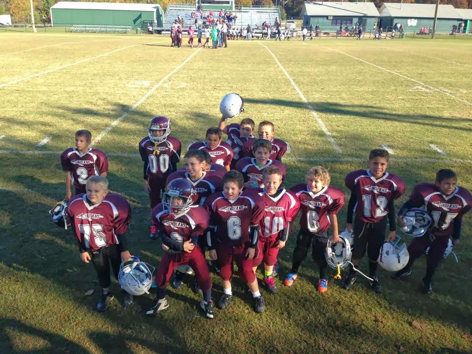 The Pocola Indian's 1st and 2nd grade Football Team