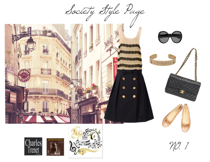 Inspiration Board | Parisian Stroll