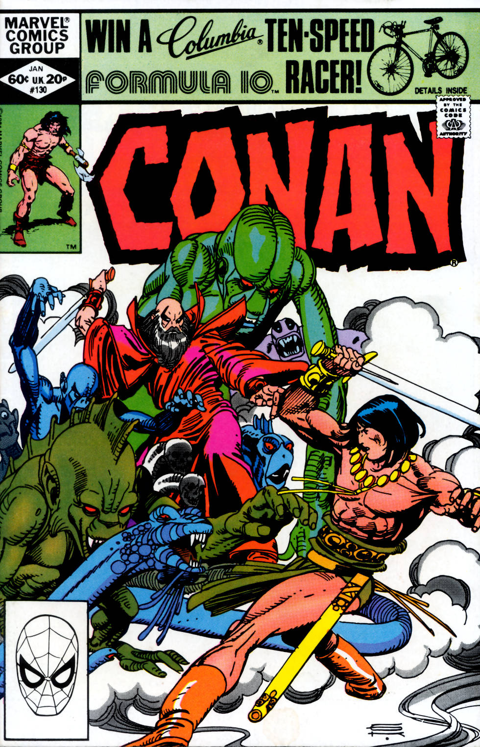 Conan the Barbarian (1970) Issue #130 #142 - English 1