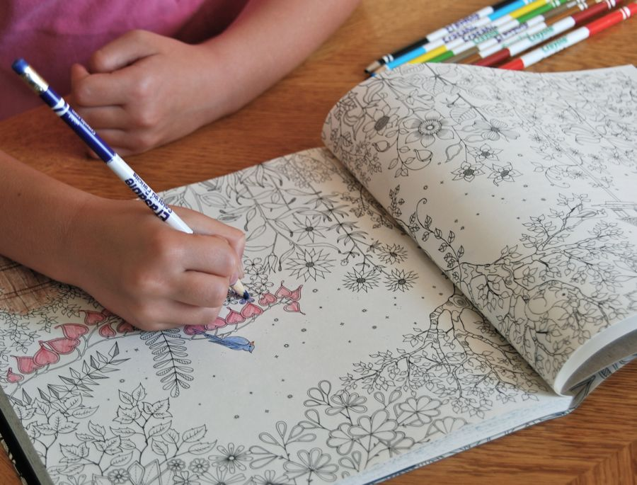 Secret Garden Coloring Book Download Wife Mother Gardener The By