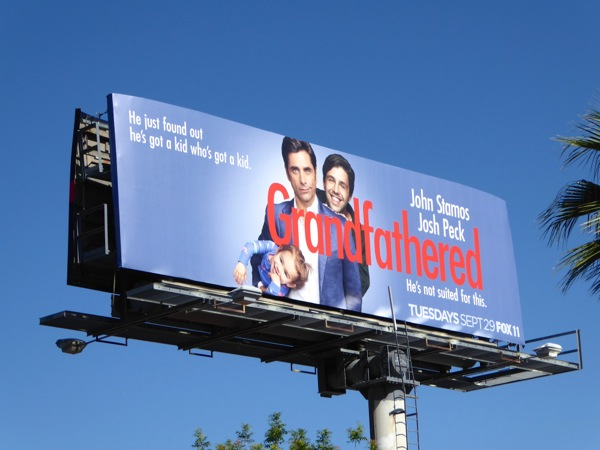 Grandfathered series premiere billboard