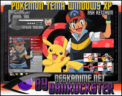 Temas de Pokemon Windows xp y 7 ASHKETCHUMTXPP
