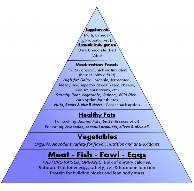 On Life Love And Low Carb Living Food Pyramids Are Confusing