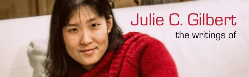 http://www.amazon.com/Julie-C.-Gilbert/e/B002BMB2LG/ref=ntt_athr_dp_pel_pop_1