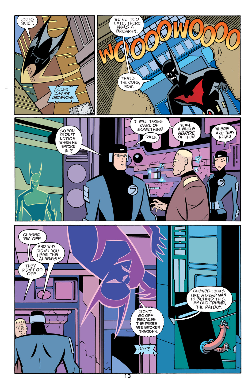 Batman Beyond [II] Issue #17 #17 - English 14