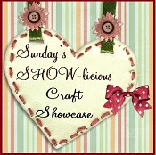 Sunday's SHOW-licious Craft Showcase