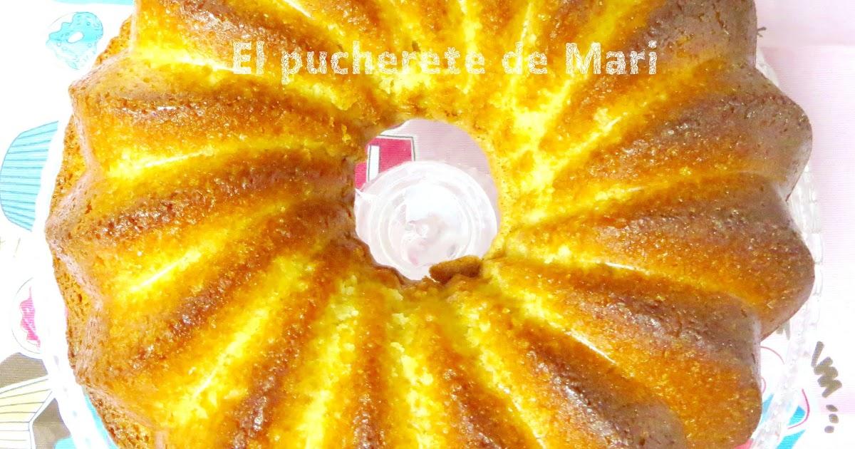 El pucherete de mari bizcocho casero de yogur y almendra for Bizcocho de yogur y almendra