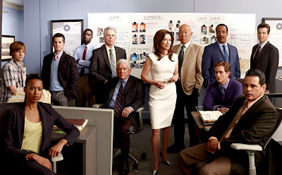 The cast of Major Crimes